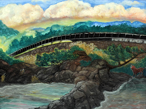 North Shore Solar Passenger Train