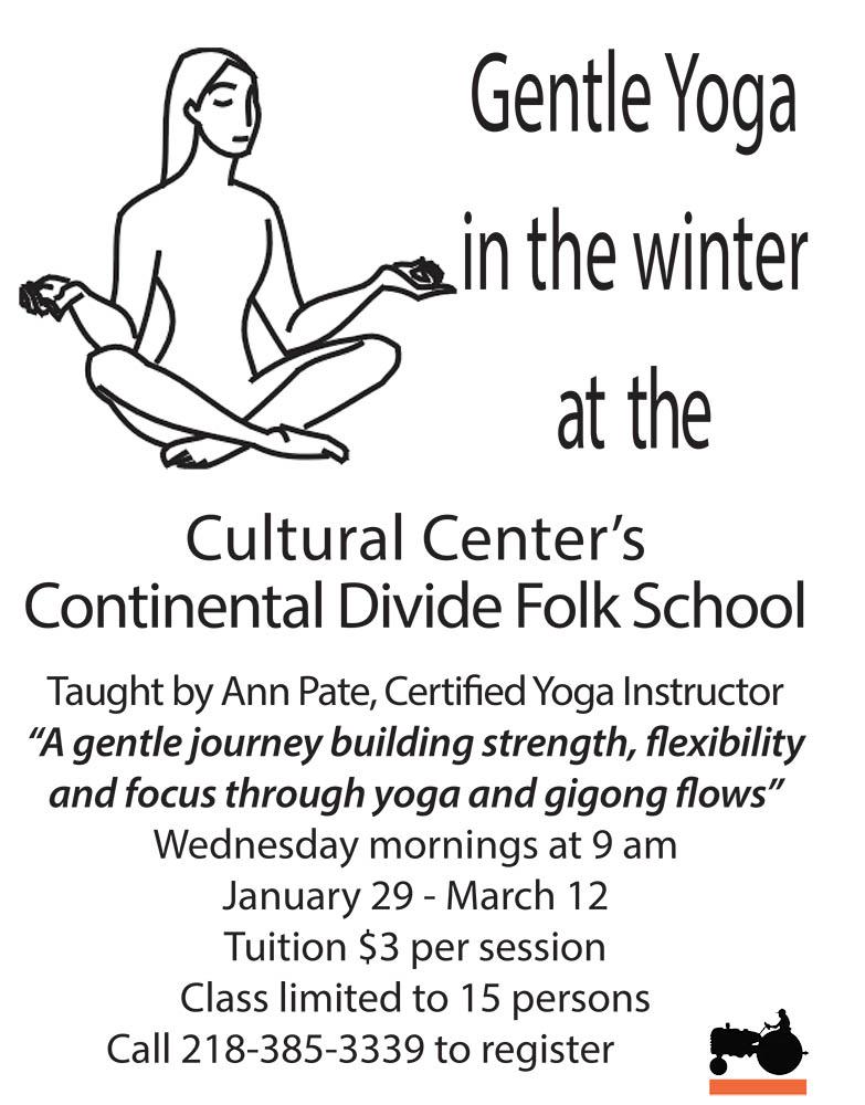 Yoga this winter