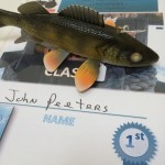 decorative walleye winner john peeters