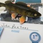 decorative walleye winner john peeters