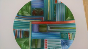 """Patti Donaldson's """"Fused and Shaped"""" glass"""