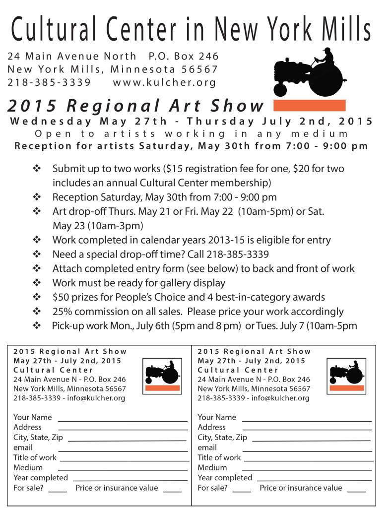 2015 Regional Show
