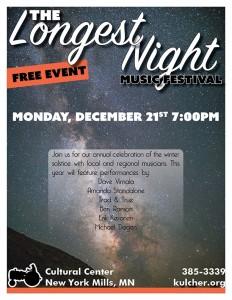2015 Longest Night poster