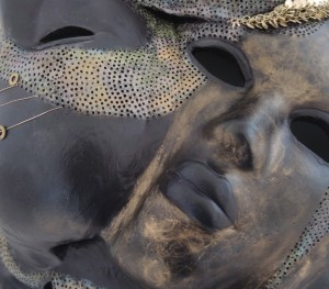 Face Sculpture Detail