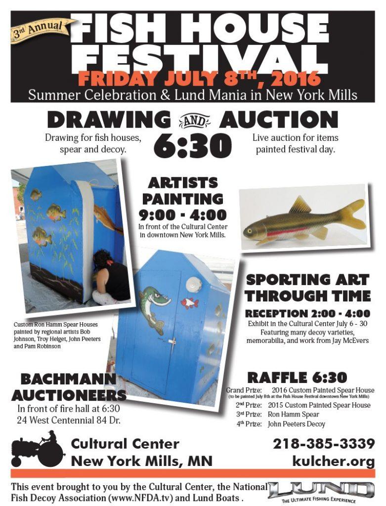 2016 Fish House Fest Poster