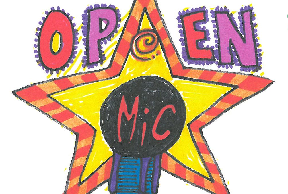 Open Mic Summer 2018 Around Town!
