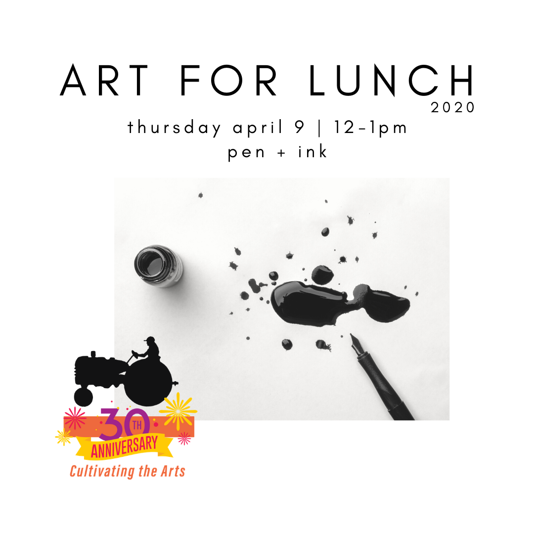 New York Mills Regional Cultural Center Art for Lunch Program - April