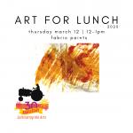 New York Mills Regional Cultural Center Art for Lunch Program - March