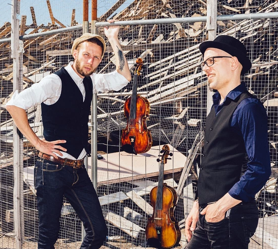 Teho. Finnish Fiddle Duo in NYM