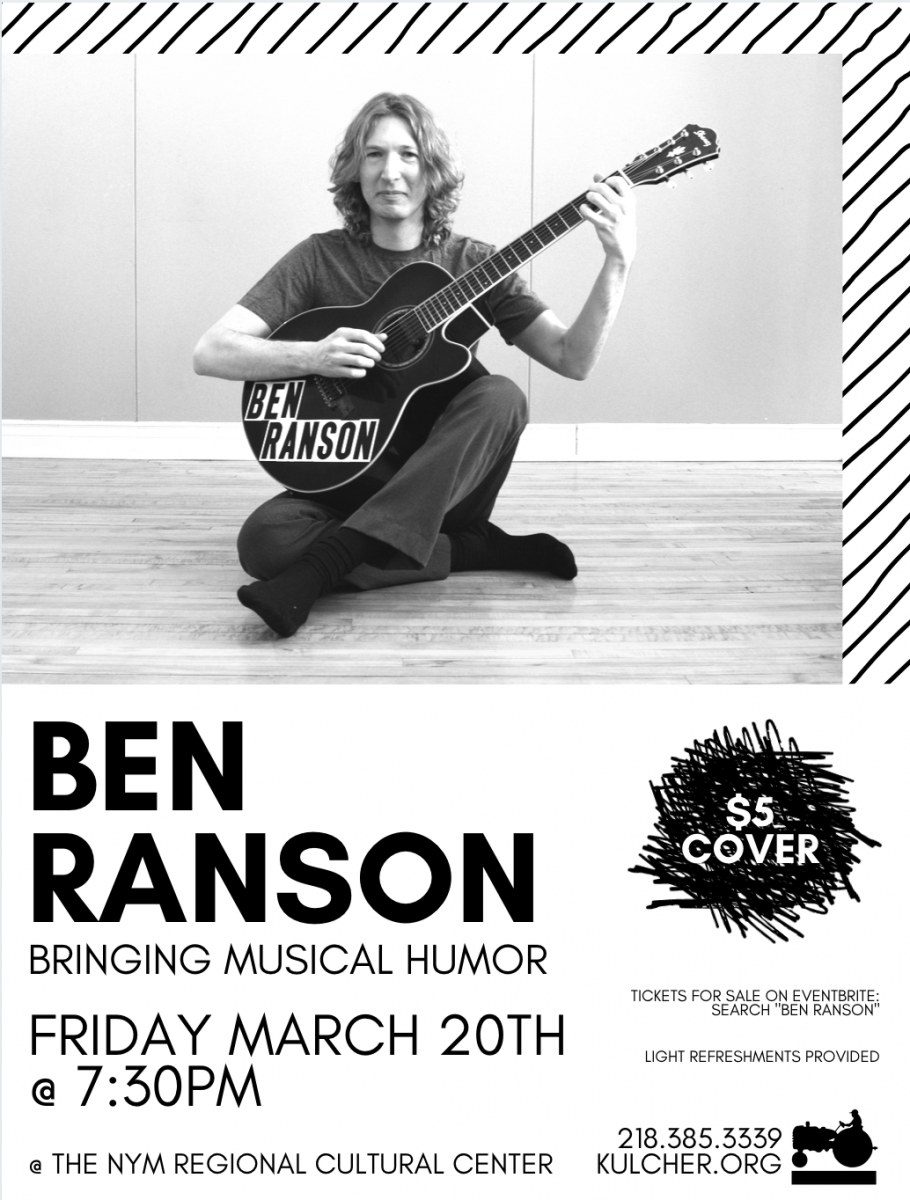 Ben Ranson Poster - NYM Cultural Center
