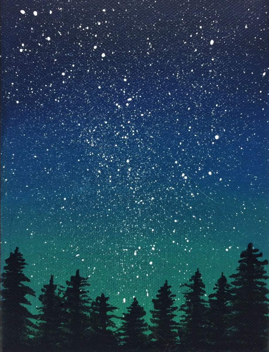 "New York Mills Regional Cultural Center ""Starry Minnesota Night"" Paint and Coffee Social"
