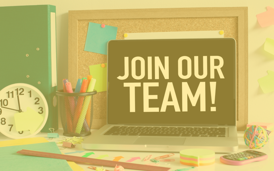 Now Hiring! Join our Creative Team