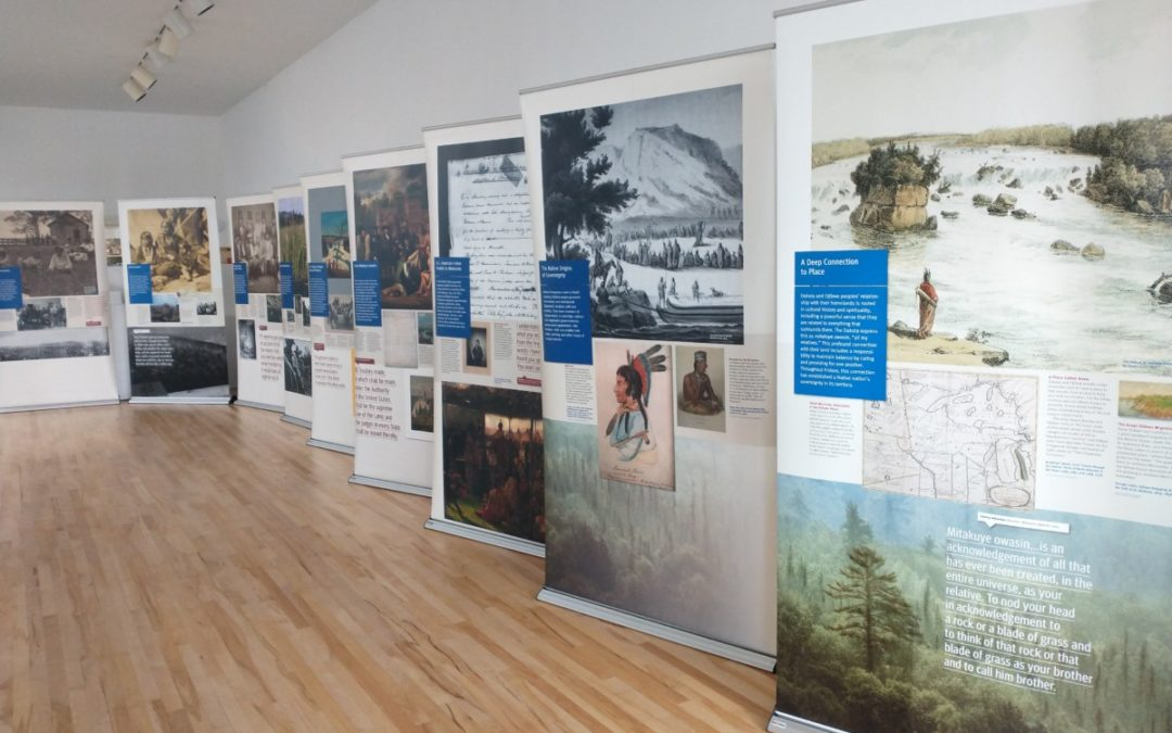 """""""Why Treaties Matter"""" Traveling Exhibit in Cultural Center Gallery"""