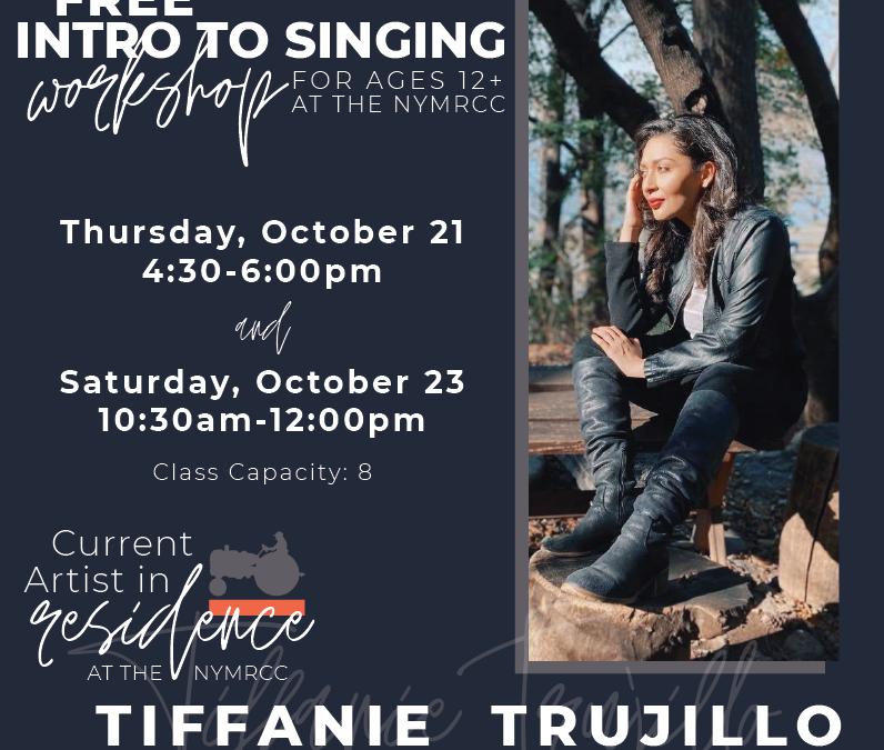Visiting Artist Tiffanie Trujillo Events October 2021